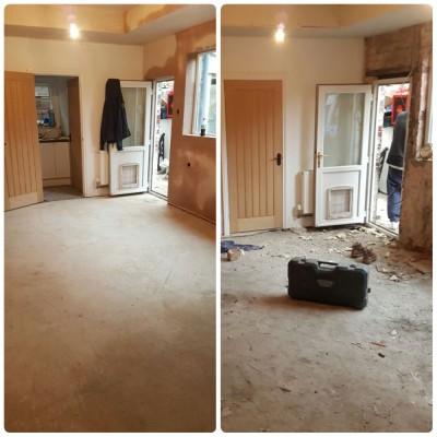 Full kitchen refurbishment in Barry.